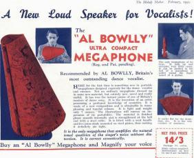 AlBowllymegaphonead-Feb1933