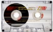 a cassette. yesterday.